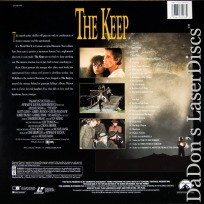 The Keep Widescreen Rare LaserDisc Horror