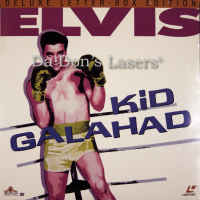 Kid Galahad Elvis LaserDisc WS Rare NEW Presley Bronson Musical