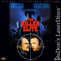 The Killer Elite WS LaserDisc Caan Duvall Thriller