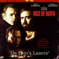 Kiss of Death WS NEW LaserDisc Cage Jackson Caruso Hunt Thriller