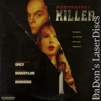 Portraits of a Killer Rare LaserDisc NEW Costas Mandylor Jennifer Grey Thriller