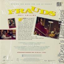 Frauds Rare NEW LaserDisc Weaving Collins Byrnes Comedy