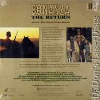 Bonanza the Return Rare LaserDisc Landon *CLEARANCE*