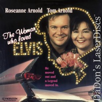 The Woman Who Loved Elvis NEW Rare LaserDisc Roseanne Arnold Tom Arnold Comedy