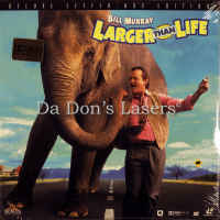 Larger Than Life AC-3 WS NEW LaserDisc Murray Comedy