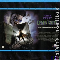 Tales from the Crypt Demon Knight Widescreen Rare NEW LaserDisc Horror