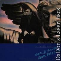 Der Himmel über Berlin Wings of Desire Japan Rare LaserDisc Dommartin German Drama