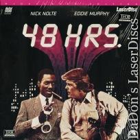 48 Hours WS Rare LaserDisc NEW Eddie Murphy Nick Nolte Action