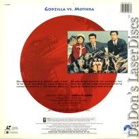 Godzilla vs. Mothra (Mosura tai Gojira) Rare LaserDisc Sci-Fi