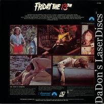 Friday the 13th Rare LaserDisc Betsy Palmer Horror