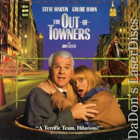 The Out-of-Towners 1999 Mega-Rare NEW LaserDisc Steve Martin Goldie Hawn Comedy