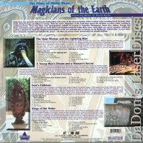 Films of Philip Haas Magicians of the Earth NEW Rare LaserDisc TV Documentary