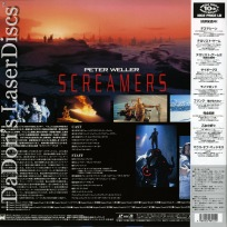 Screamers Widescreen Japan Only Mega-Rare LaserDisc Sci-Fi