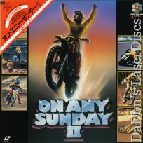 On Any Sunday II Rare Japan Only LaserDisc Motorcycle Racing Documentary