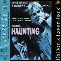 The Haunting 1963 Widescreen Rare Japan LaserDisc Horror