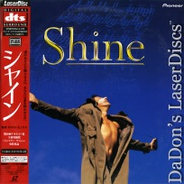Shine Japan DTS WS LaserDisc +OBI Rare NEW LD Rush Stall Noah Biography Drama