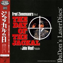 The Day of the Jackal Widescreen Mega-Rare Japan Only LaserDisc Mystery