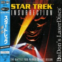 Star Trek Insurrection AC-3 Widescreen NEW Rare Japan LaserDisc Stewart Frakes Sci-Fi