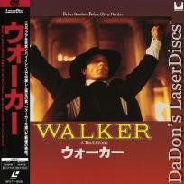 Walker Mega-Rare LaserDisc Japan Only Harris Masur War Drama