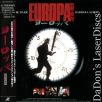 Europa AKA Zentropa Widescreen Rare Japan Only LaserDisc Thriller