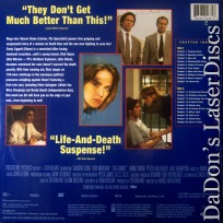 Last Dance 1996 DSS WS NEW Rare LaserDisc Sharon Stone Quaid Prison Drama