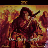The Last of the Mohicans AC-3 THX WS LaserDisc Lewis Action