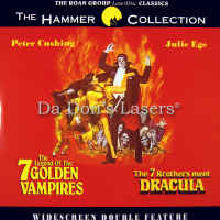 Legend of the 7 Golden Vampires 7 Brothers Meet Dracula Horror