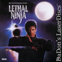 Lethal Ninja Rare NEW LaserDisc Kettle Webb Action