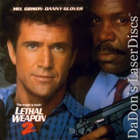Lethal Weapon 2 DSS WS Rare NEW LaserDisc Gibson Glover Action
