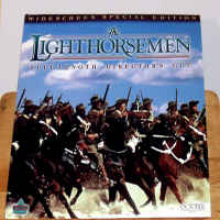 The Lighthorsemen WS Rare Uncut LaserDisc Blake Phelps Action