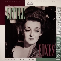 The Little Foxes PSE RM NEW LaserDisc Pioneer Vintage Drama