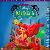 The Little Mermaid AC-3 THX WS LaserDisc Disney Benson Animation