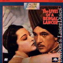 The Lives of a Bengal Lancer NEW Rare LaserDisc Cooper Adventure