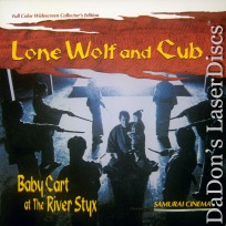 Lone Wolf and Cub 2 Baby Cart at the River Styx WS LaserDisc Action
