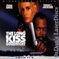 The Long Kiss Goodnight AC-3 WS LaserDisc Davis Jackson Action