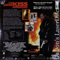 The Long Kiss Goodnight AC-3 WS NEW LaserDisc Davis Action
