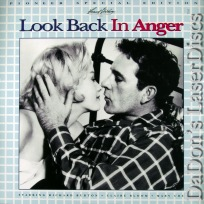 Look Back in Anger LaserDisc WS NEW Pioneer Special Ed Drama