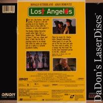 Lost Angeles DSS Rare LaserDisc Sutherland Horovitz Cop