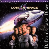Lost In Space AC-3 WS Rare LaserDisc Oldman LeBlanc Sci-Fi