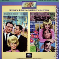 Lover Come Back / Send Me No Flower Encore WS Double NEW LaserDisc Comedy
