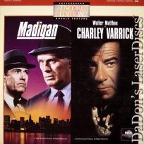 Madigan / Charley Varrick Widescreen Encore LaserDisc Double Drama