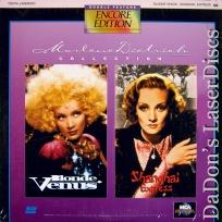 Blonde Venus Shanghai Express Rare Encore LaserDiscs Grant