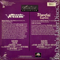 Blonde Venus Shanghai Express Rare NEW LaserDiscs Grant