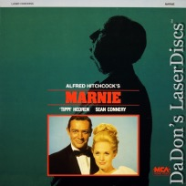 Marnie LaserDisc Hitchcock Connery Hedren Mystery