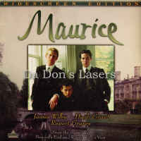 Maurice DSS WS 1987 Rare LaserDisc Wilby Grant Graves Drama