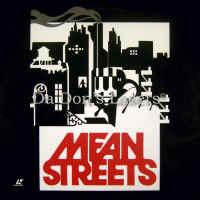 Mean Streets WS Rare LaserDisc De Niro Keitel Gangster Comedy