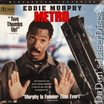 Metro AC-3 WS NEW Rare LaserDisc Murphy Rapaport Comedy