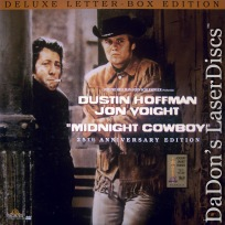 Midnight Cowboy DSS RM WS 25th Annual LaserDisc Hoffman