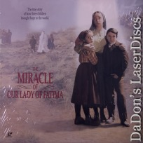 The Miracle of Our Lady of Fatima LaserDisc Roland Whitney Drama