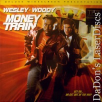 Money Train DSS THX WS Rare LaserDisc Snipes Harrelson Subway Robbery Action
